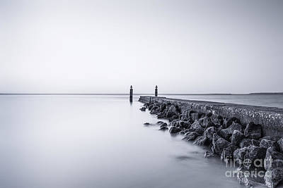 Staten Island Photograph - Milky Sea by Evelina Kremsdorf