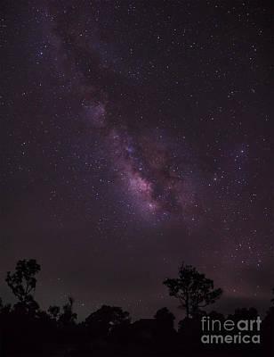 Virgo Photograph - Milky Way And Galaxy. by Tosporn Preede