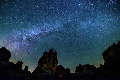 Milky Way At Phyrgia Print by Okan YILMAZ