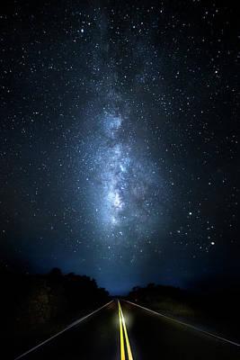 Milky Way Highway Print by Mark Andrew Thomas