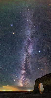 Milky Way Magic Print by Darren White