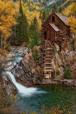 Old Mills Photograph - Mill In The Mountains by Darren White