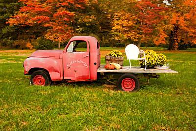 Millers Truck Print by Paul Bartoszek