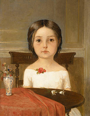 Millie Smith Print by Ford Madox Brown