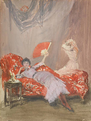 Tonalist Painting - Milly Finch by James Abbott McNeill Whistler