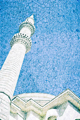 Minaret Print by Tom Gowanlock