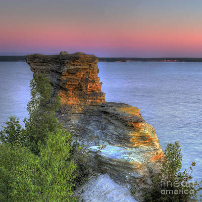 Fall Photograph - Miners Castle by Twenty Two North Photography