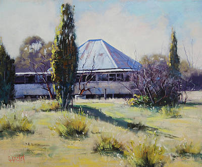 Miners Cottage Pyramul  Original by Graham Gercken