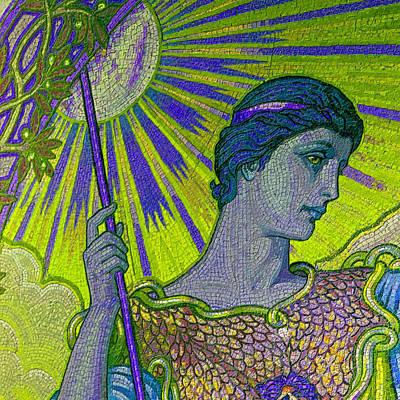 Elaborate Painting - Minerva Goddess Of Wisdom 3 by Tony Rubino