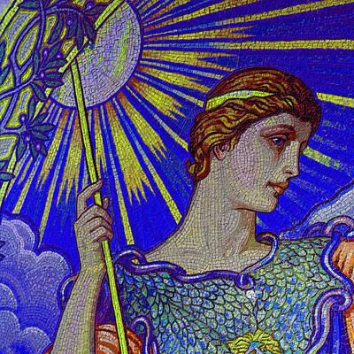 Elaborate Painting - Minerva Goddess Of Wisdom 4 by Tony Rubino