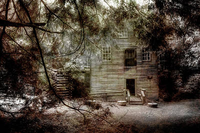 Grist Mill Photograph - Mingus Mill N.c. by Mike Eingle