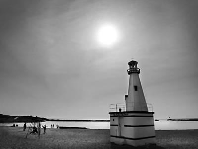 Miniature Lighthouse Original by John Hansen