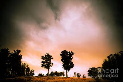 Minimalist Rural Landscape Print by Jorgo Photography - Wall Art Gallery