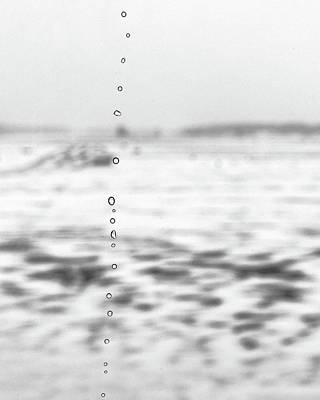 Minimalist Winter Landscape Print by Jon Woodhams
