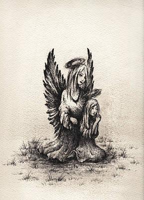 Ministering Angel Original by Rachel Christine Nowicki