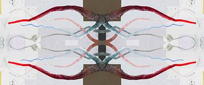 Minotaur Digital Art - Minotaur 1 by Derek Leka