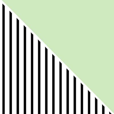 Mint Digital Art - Mint And Black Geometric by Linda Woods