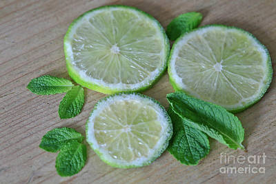 Minty Limes Original by Tracy Hall