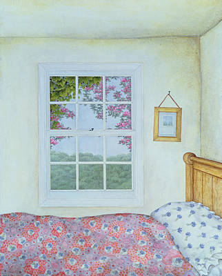 Bed Quilts Photograph - Miriam's Room by Ditz