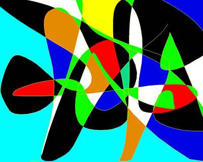 Modernart Painting - Miro by Sasha Alaily