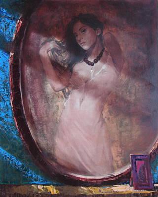 Mirror For The Sun Print by Sergey Ignatenko