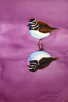 Killdeer Painting - Mirror  Mirror by Ben Vines Jr