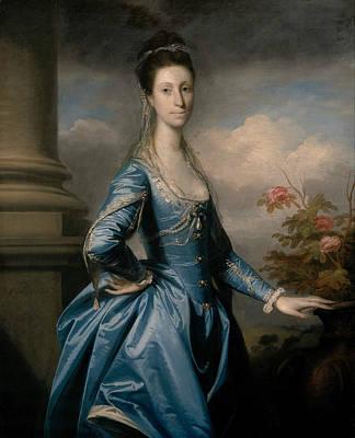18th Century Painting - Miss Elizabeth Ingram by Joshua Reynolds