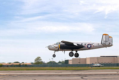 B25 Photograph - Miss Hap by Jim Poulos