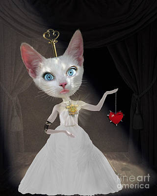 Miss Kitty Print by Juli Scalzi