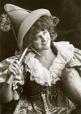 Digital Art - Miss Marie Studholme As Lady Madcap 1905 by Sarah Vernon
