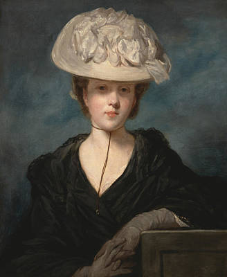 18th Century Painting - Miss Mary Hickey by Joshua Reynolds