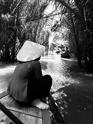 Miss Saigon Print by Agnes Czekman
