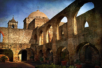 Mission San Jose Print by Melany Sarafis