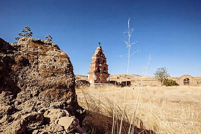 Photograph - Mission San Miguel Courtyard  by Scott Pellegrin