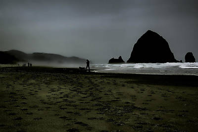 Beach Photograph - Mist At Cannon Beach by David Patterson