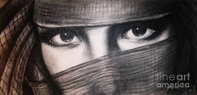 Mistic Eyes Print by Anastasis  Anastasi