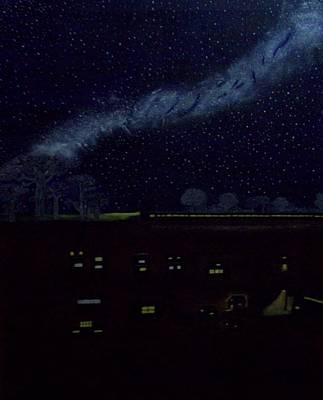 Mistrees Of Night Original by Parveen Shrivastava