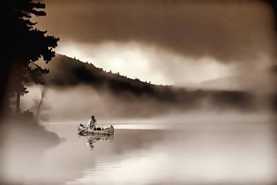 Misty Morning Original by Stephen Anthony