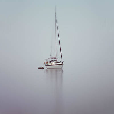 Yacht Photograph - Misty Weather by Stelios Kleanthous