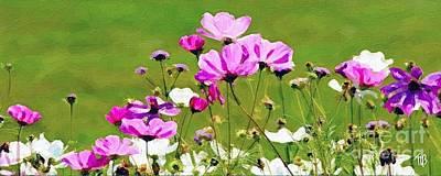 Painting - Misty's Flowers by Tammy Lee Bradley