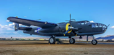 Photograph - Mitchell Medium Bomber by Tommy Anderson