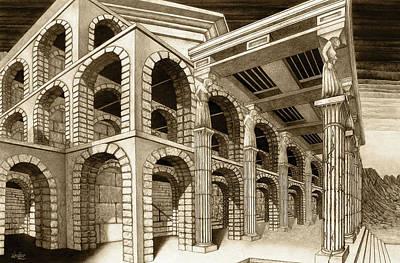 Mithlond Gray Havens Print by Curtiss Shaffer