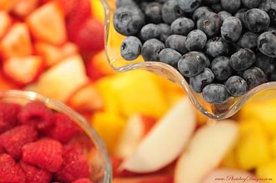 Mixed Fruit 6904 Print by PhotohogDesigns