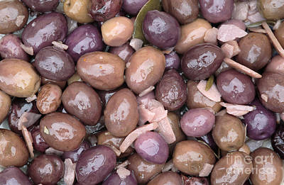 Mixed Olives Print by Neil Overy