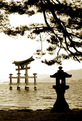 Miyajima Photograph - Miyajima Island by Don Wolf