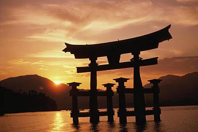 Miyajima Photograph - Miyajima Torii by Rita Ariyoshi - Printscapes