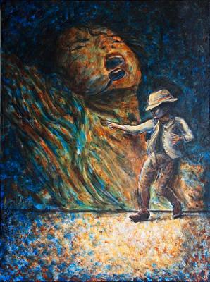 Michael Jackson Painting - Mj Bad by Nik Helbig