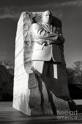 Us Civil Rights Photograph - MLK by Olivier Le Queinec