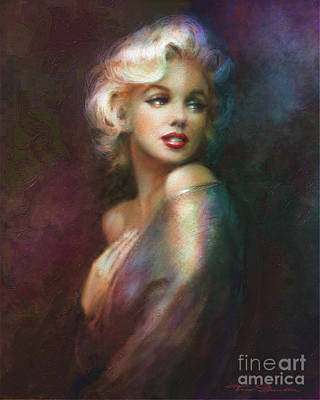 Marilyn Monroe Digital Art - Mm Ww Colour by Theo Danella