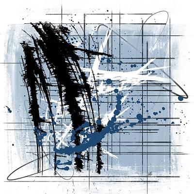Modern Blue Original by Melissa Smith